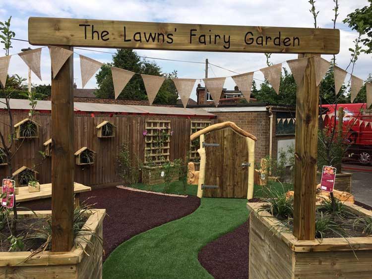 The Lawns Fairy Garden